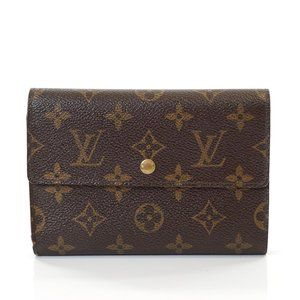 Auth Louis Vuitton Porte Tresor Wallet #7037L16